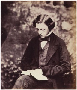 famour photograph of Lewis Carroll