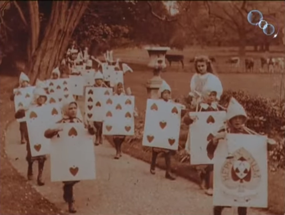 Royal Procession from 1903 Alice in Wonderland
