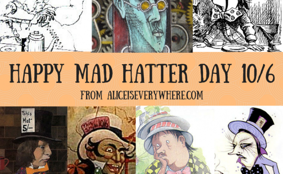Mad Hatter Day is October 6
