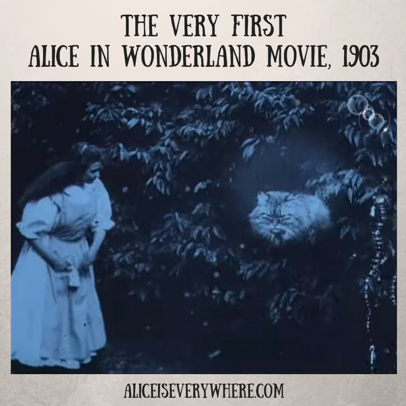 first alice in wonderland movie featured special effects