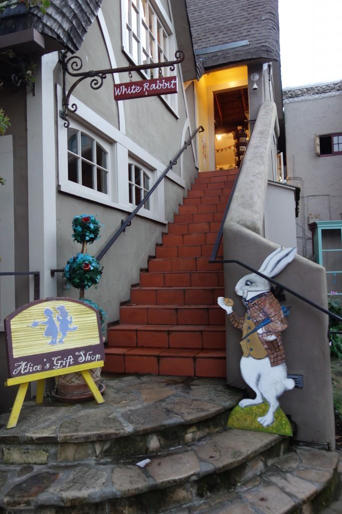 Alice in Wonderland gift shop in Carmel California