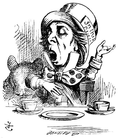 Mad Hatter tells a tale