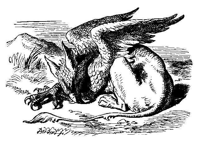 gryphon is half eagle, half lion